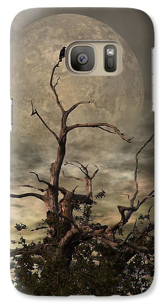 The Crow Tree Galaxy Case by Isabella Abbie Shores