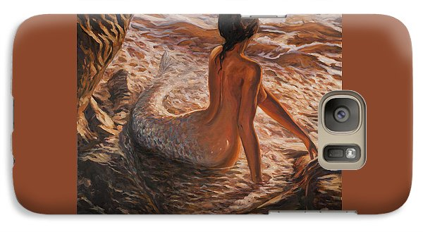 The Daughter Of The Sea Galaxy S7 Case by Marco Busoni