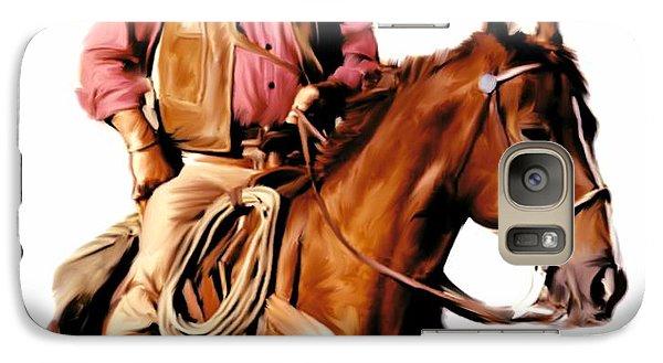The Duke  John Wayne Galaxy S7 Case by Iconic Images Art Gallery David Pucciarelli