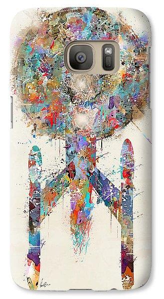 The Enterprise Galaxy S7 Case by Bri B