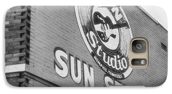 The Famous Sun Studio In Memphis Tennessee Galaxy Case by Dan Sproul