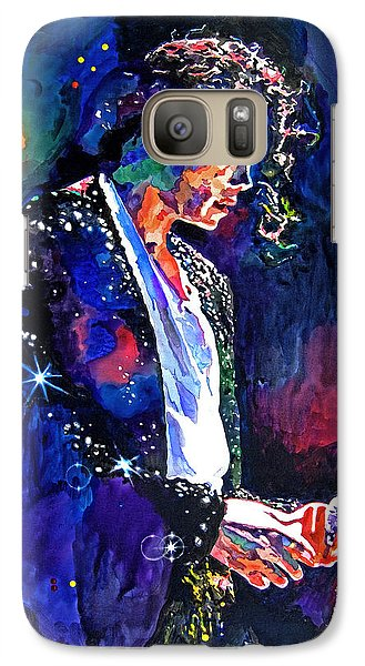 The Final Performance - Michael Jackson Galaxy S7 Case by David Lloyd Glover