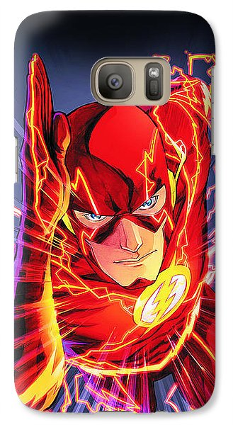 The Flash Galaxy S7 Case by FHT Designs