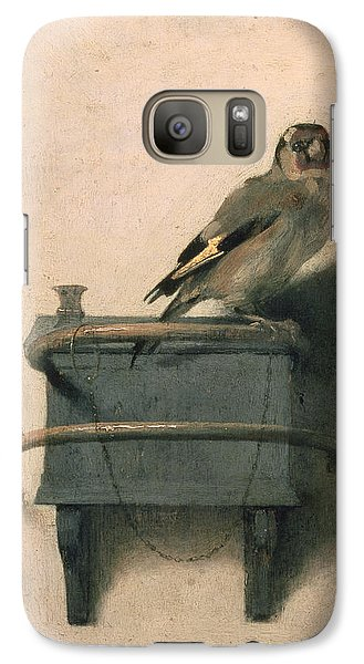 The Goldfinch Galaxy S7 Case by Carel Fabritius