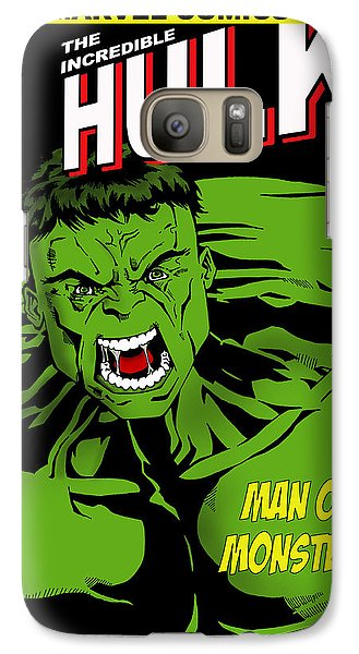 The Incredible Hulk Galaxy S7 Case by Mark Rogan