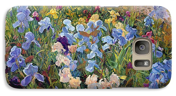 The Iris Bed Galaxy S7 Case by Timothy Easton