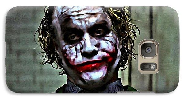 The Joker Galaxy S7 Case by Florian Rodarte