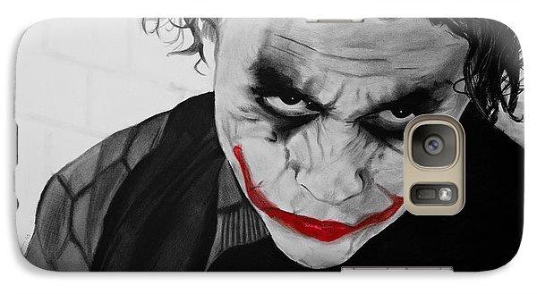 The Joker Galaxy S7 Case by Robert Bateman