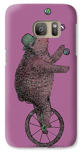 The Juggler Galaxy S7 Case by Eric Fan