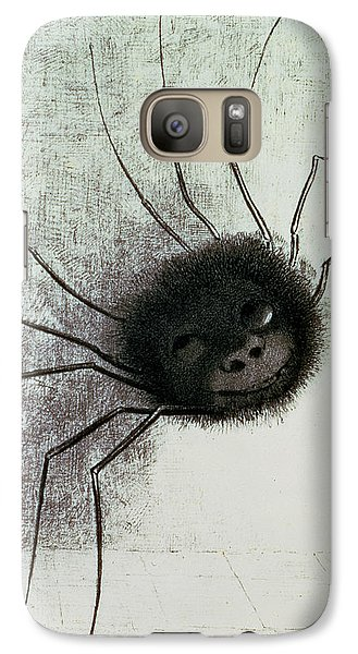 The Laughing Spider Galaxy S7 Case by Odilon Redon