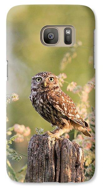 The Little Owl Galaxy Case by Roeselien Raimond