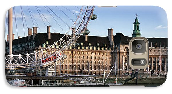 The London Eye And County Hall Galaxy S7 Case by Rod McLean