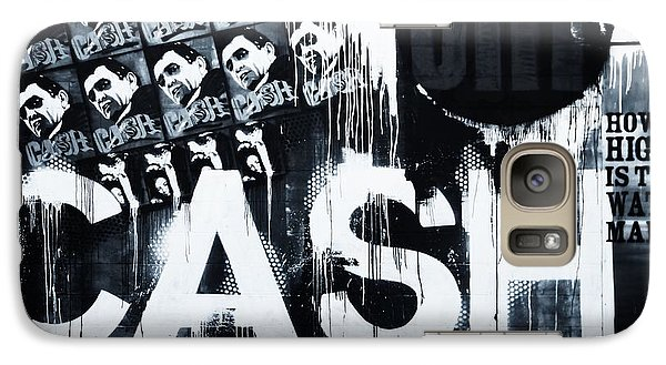 The Man In Black Galaxy Case by Dan Sproul