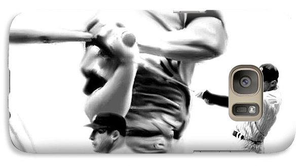 The Mick  Mickey Mantle Galaxy Case by Iconic Images Art Gallery David Pucciarelli