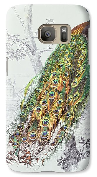 The Peacock Galaxy S7 Case by A Fournier