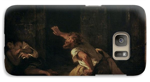 The Prisoner Of Chillon Galaxy S7 Case by Ferdinand Victor Eugene Delacroix