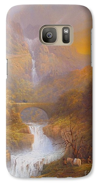 The Road To Rivendell The Lord Of The Rings Tolkien Inspired Art  Galaxy S7 Case by Joe  Gilronan