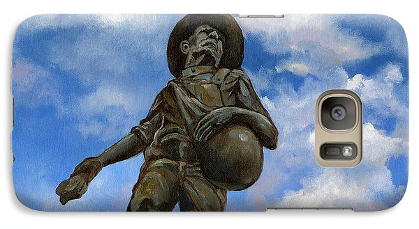 The Seed Sower Galaxy Case by Linda Dunbar