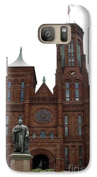 The Smithsonian - Washington Dc Galaxy S7 Case by Christiane Schulze Art And Photography