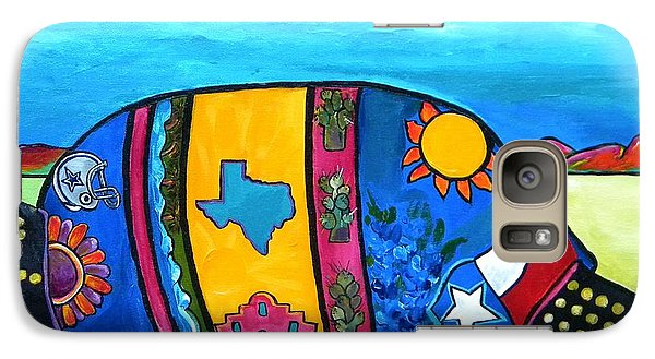 The Texas Armadillo Galaxy S7 Case by Patti Schermerhorn
