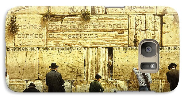 The Western Wall  Jerusalem Galaxy S7 Case by Graham Braddock