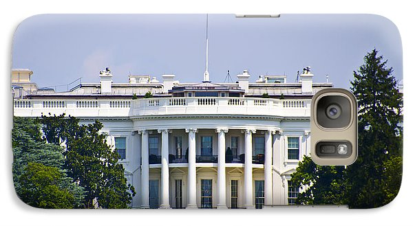 The Whitehouse - Washington Dc Galaxy Case by Bill Cannon