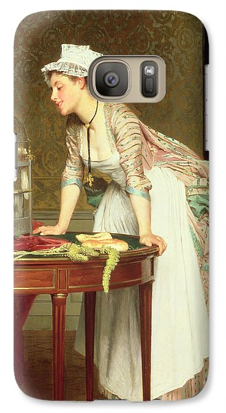 The Yellow Canaries Galaxy S7 Case by Joseph Caraud