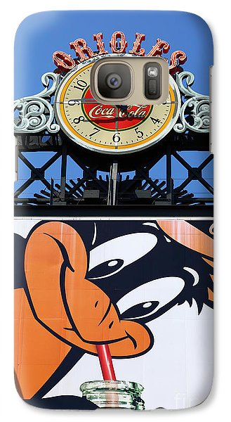 Thirsty Oriole Galaxy Case by James Brunker