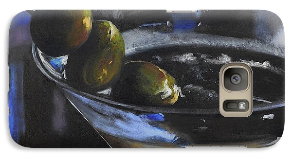 Three Olive Martini Galaxy S7 Case by Donna Tuten