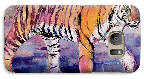 Tigress, Khana, India Galaxy Case by Mark Adlington