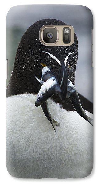 Feeding Time... Galaxy Case by Nina Stavlund