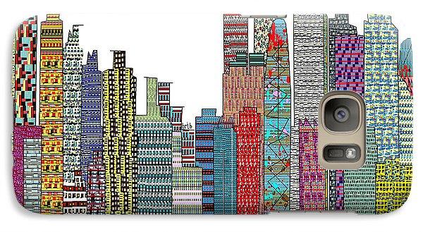 Tokyo City  Galaxy Case by Bri B