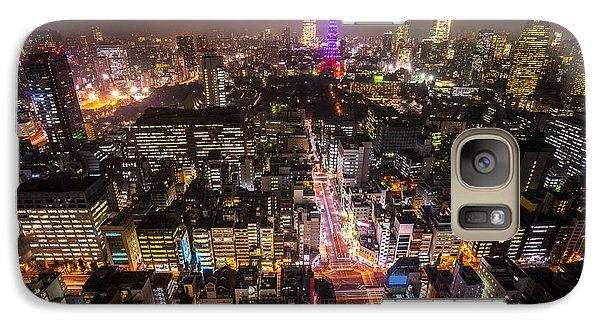Tokyo Tower - Tokyo - Japan Galaxy S7 Case by Luciano Mortula