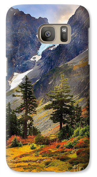 Top Of Cascade Pass Galaxy Case by Inge Johnsson