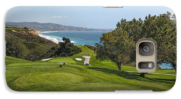 Torrey Pines Golf Course North 6th Hole Galaxy S7 Case by Adam Romanowicz