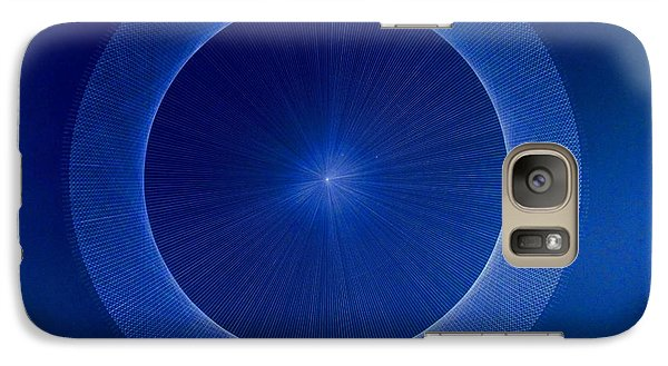 Towards Pi 3.141552779 Hand Drawn Galaxy Case by Jason Padgett
