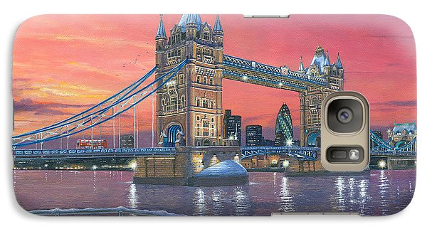Tower Bridge After The Snow Galaxy Case by Richard Harpum