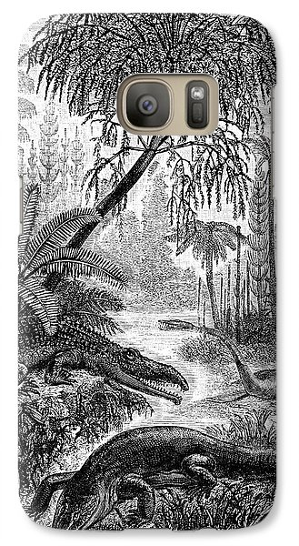 Triassic World Galaxy S7 Case by Collection Abecasis