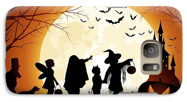 Trick Or Treat Galaxy Case by Gianfranco Weiss