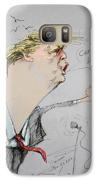 Trump In A Mission....much Ado About Nothing. Galaxy Case by Ylli Haruni