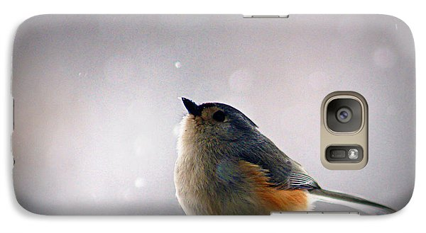 Tufted Titmouse Galaxy S7 Case by Cricket Hackmann
