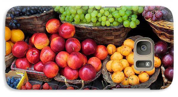 Tuscan Fruit Galaxy Case by Inge Johnsson