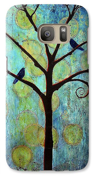 Twilight Tree Of Life Galaxy S7 Case by Blenda Studio