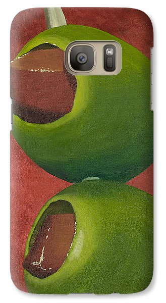 Two Olives In Search Of A Bloody Mary Galaxy S7 Case by Garry McMichael