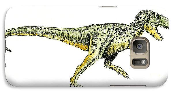 Tyrannosaurus Rex Galaxy Case by Michael Vigliotti