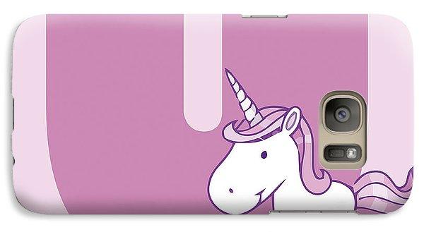 U Galaxy S7 Case by Gina Dsgn