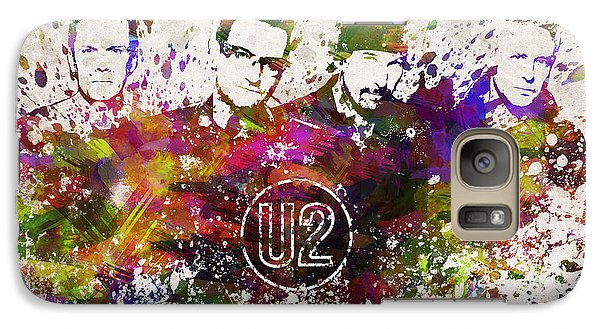U2 In Color Galaxy S7 Case by Aged Pixel