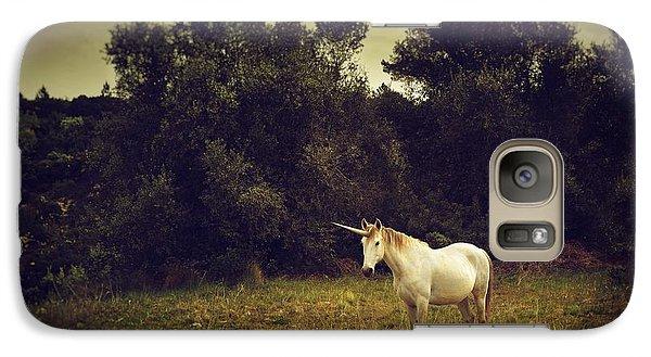 Unicorn Galaxy S7 Case by Carlos Caetano