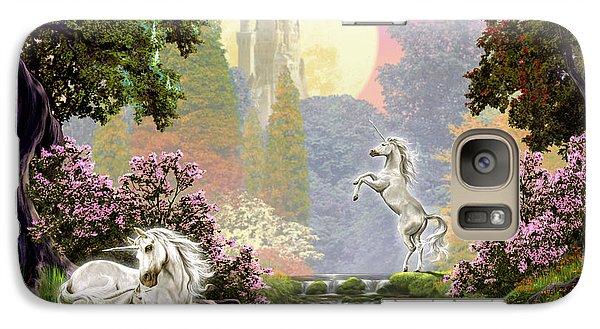 Unicorn New Born Galaxy S7 Case by Garry Walton