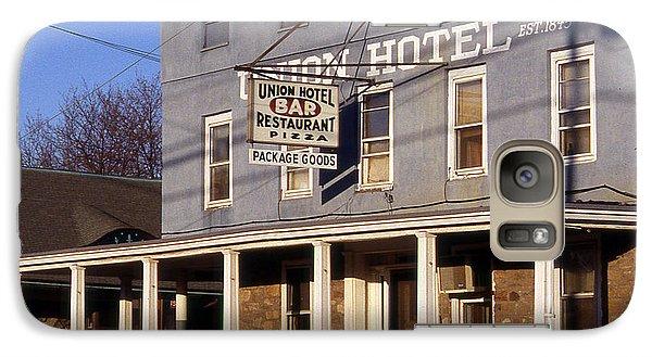 Union Hotel Galaxy Case by Skip Willits